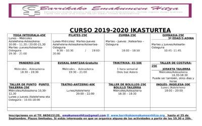 CURSO 2019-2020