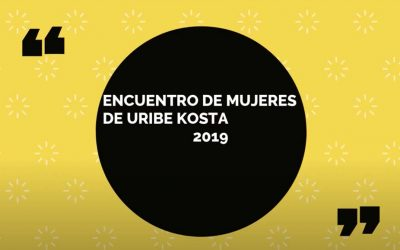 Encuentro de mujeres de Uribe Kosta 2019